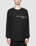 Fuck Art, Make Tees Don't Say Motherfucker, Motherfucker L/S T-Shirt Picture