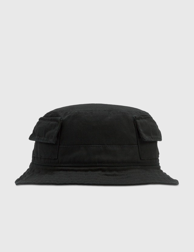Heron Preston Logo Patch Bucket Hat Black Men