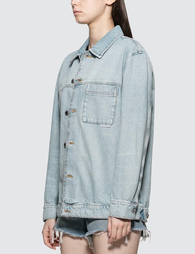 Alexander Wang.T Pajama Denim Shirt
