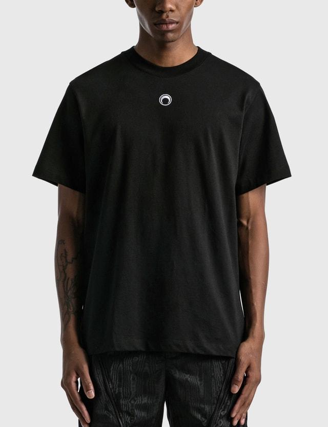 Marine Serre Tribal Trim T-shirt Black Men