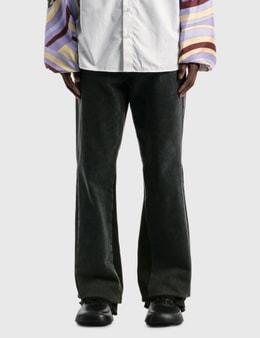 Raf Simons Flared Denim Workwear Pants