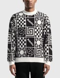 Rassvet Geometric Graphic Printed Sweater 사진