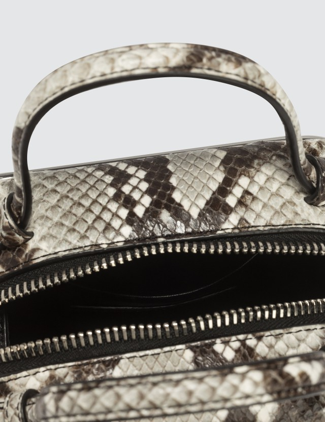 Alexander Wang Halo Handbag With Snake Print