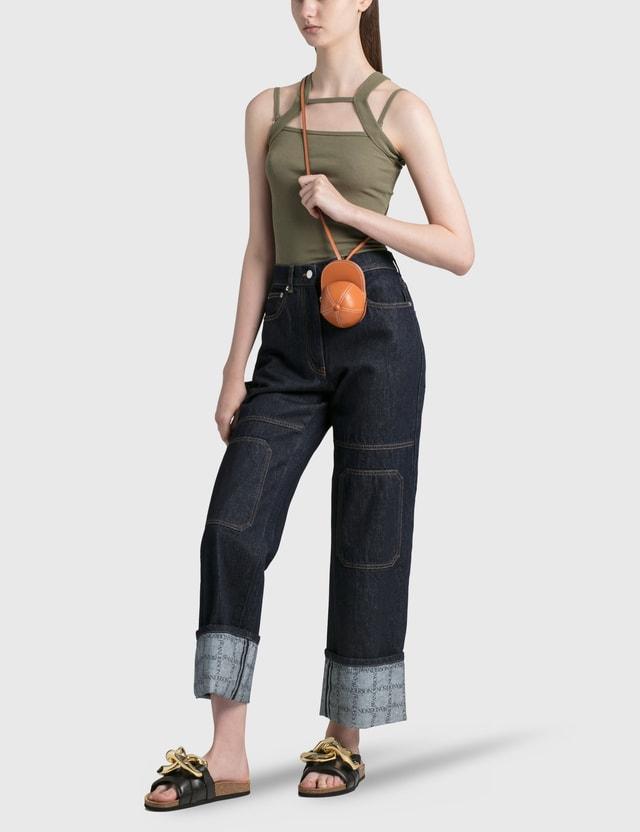 JW Anderson Nano Cap Bag Ginger Women