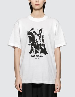 Wasted Paris No Fear White Short Sleeve T-shirt