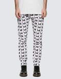 CALVIN KLEIN JEANS EST.1978 Allover Icon Printed Straight Leg Jeans Picture