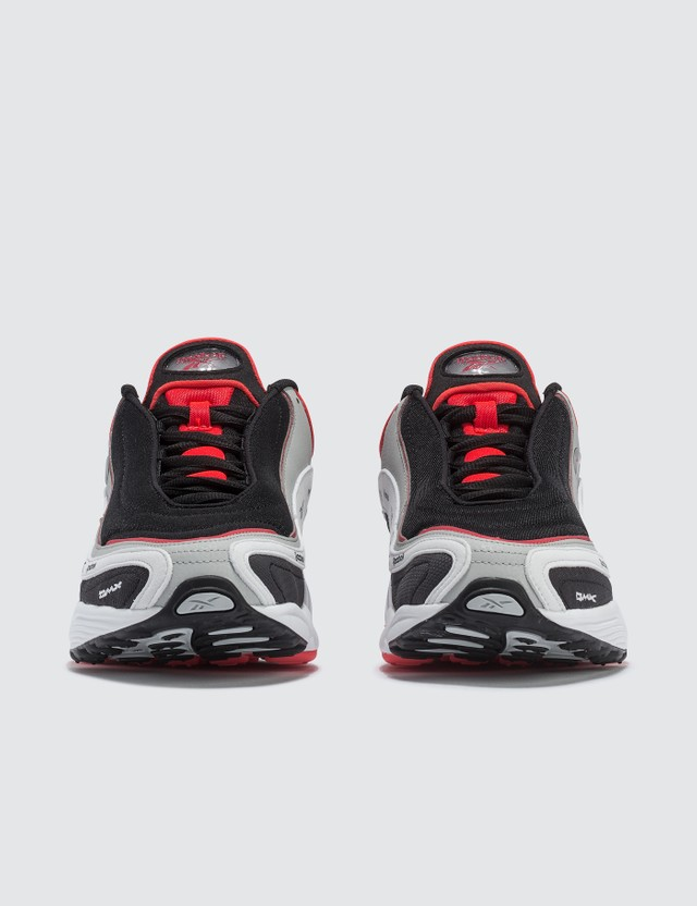 Reebok Daytona DMX Vector Sneaker Black/grey/white/neon Red Men