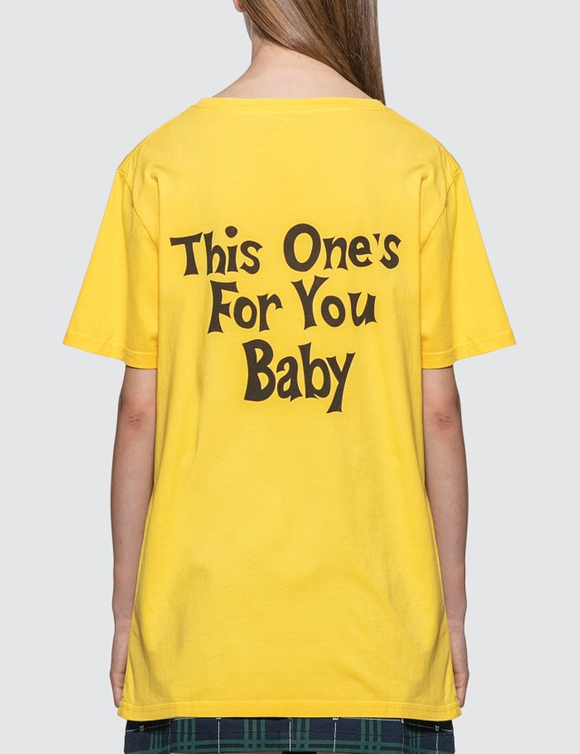 #FR2 #FR2 x Jungles This One's For You T-Shirt Yellow Women