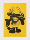 """Kostas Seremetis """"The All Mighty"""" KS049 Limited Edition Print on Yellow Paper Picture"""