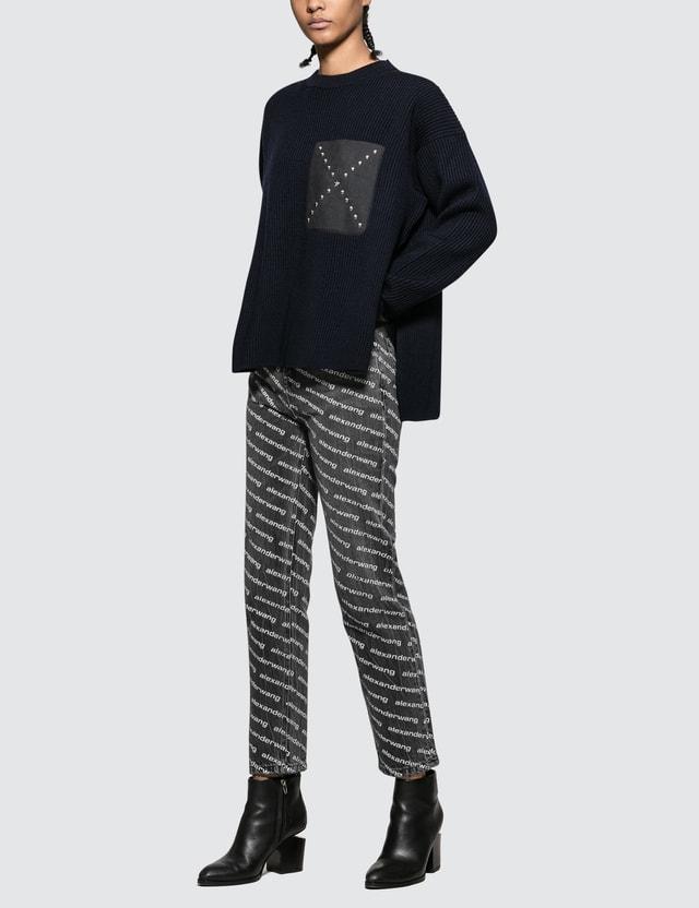 Alexander Wang.T Bluff Logo Jeans