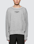 Mr. Completely Front Back Sweatshirt Picture