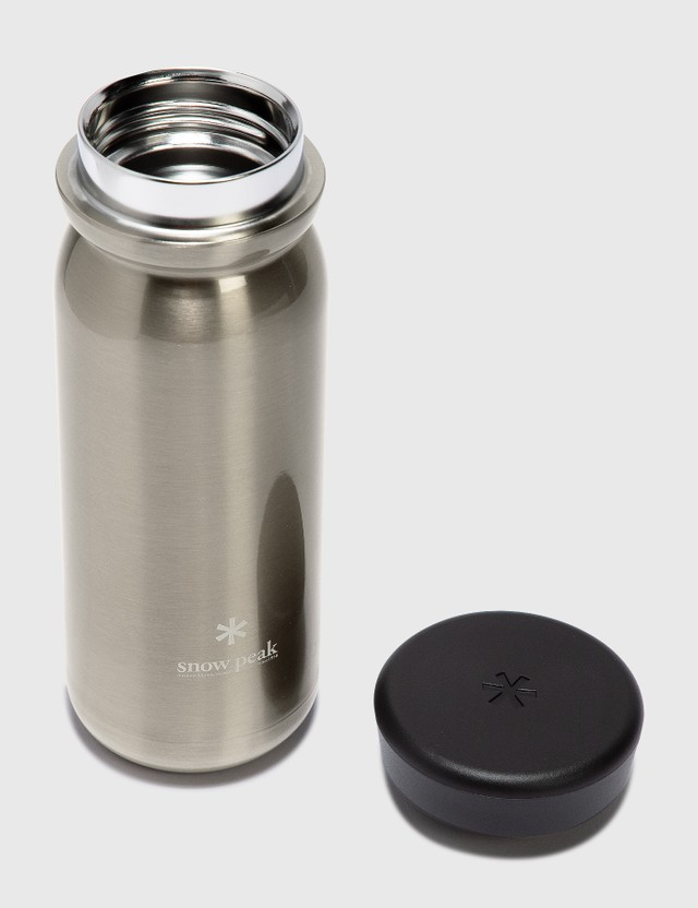Snow Peak Milk Bottle 500ml Silver Life