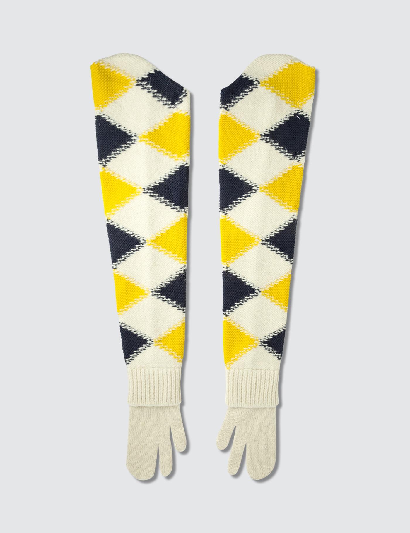 Maison Margiela Long Split Finger Gloves