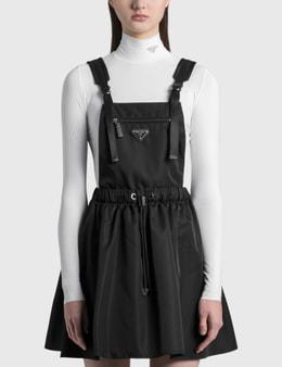 Prada Sleeveless Re-nylon Gabardine Dress
