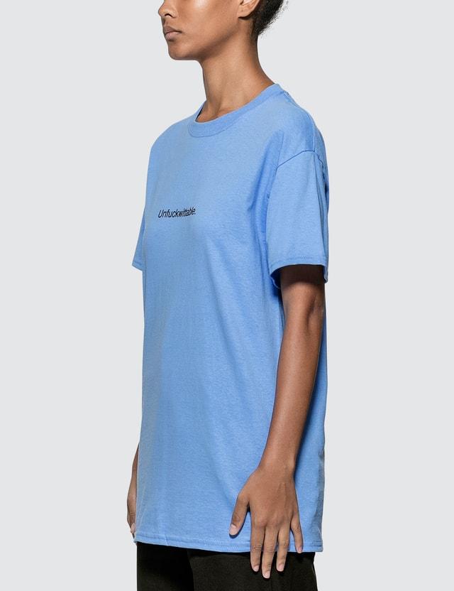 Fuck Art, Make Tees Unfuckwittable. T-shirt Sky Blue Women