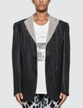 R13 Deconstructed Oversized Boyfriend Blazer Picture
