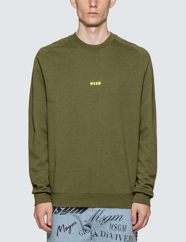 MSGM Felpa Sweatshirt