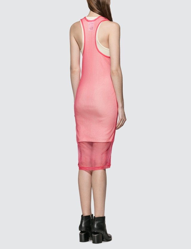 Helmut Lang Msac Tank Dress Prism Pink Women