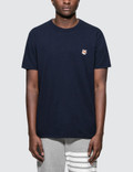 Maison Kitsune Fox Head Patch S/S T-Shirt Picture