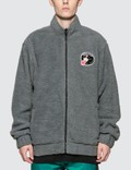 RIPNDIP Pill Reversible Sherpa Varsity Jacket Picture