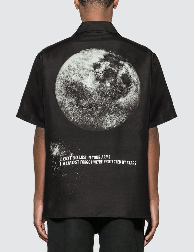 Valentino Moon Silk Bowling Shirt