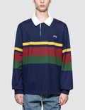 Stussy Lucas Stripe L/S Rugby Picture
