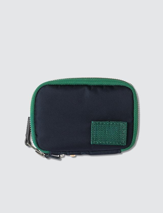 Sacai Studded Zip Around Wallet
