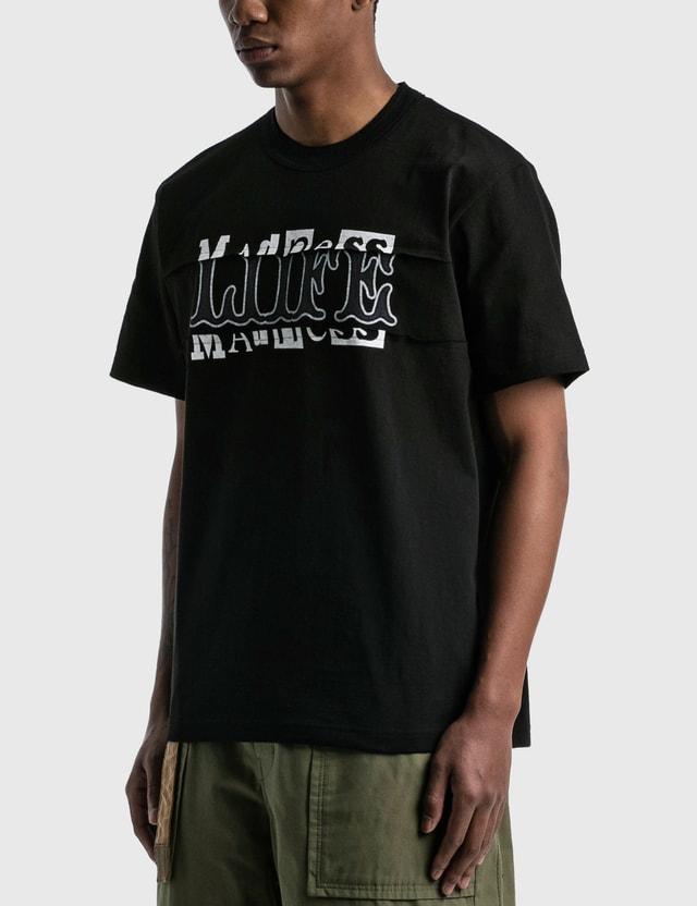Sacai Archive Mix T-shirt Black Men