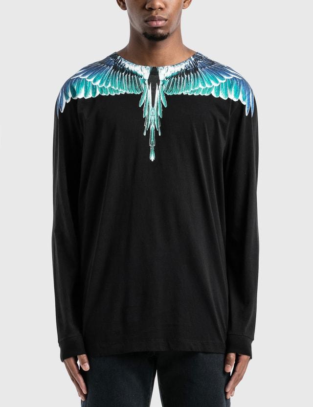 Marcelo Burlon Wings Basic Long Sleeve T-Shirt