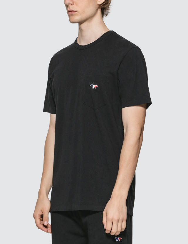 Maison Kitsune Tricolor Fox Patch T-Shirt