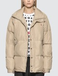 Maison Kitsune Fox Head Patch Down Jacket 사진