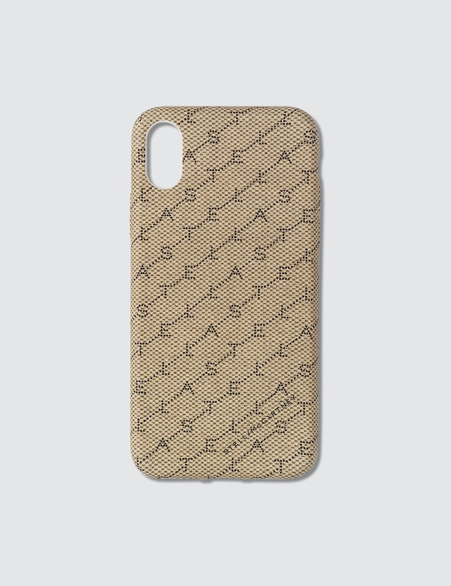 Stella McCartney Monogram Print iPhone XS Case