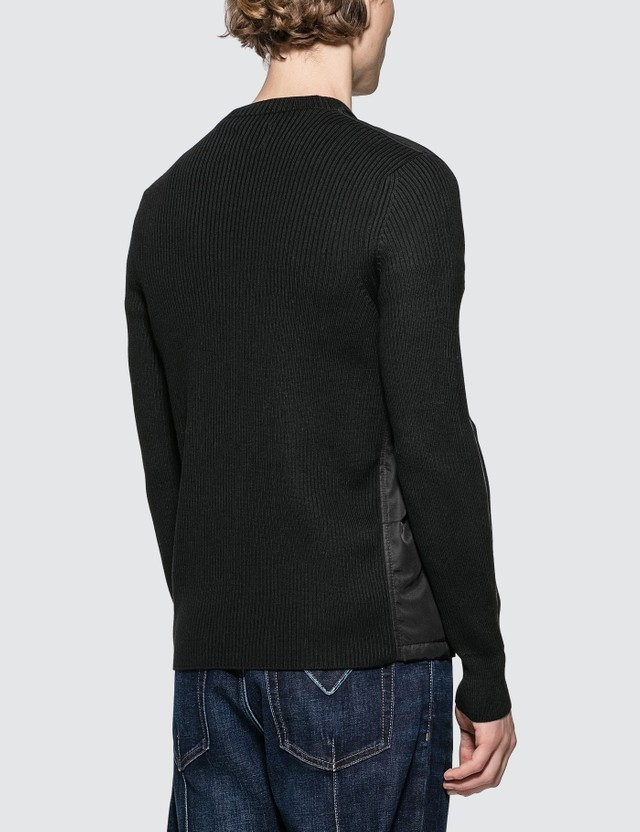 Prada Wool Nylon Knitted Sweater
