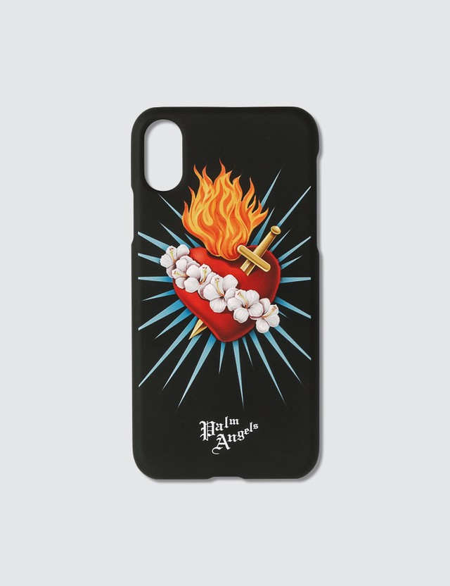 Palm Angels Sacred Heart iPhone Case Xs