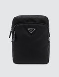Prada Nylon And Leather Trim Vertical Washbag Picture