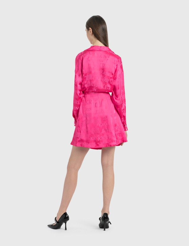 Kirin Cut Out Detail Dress Pink Pink Women