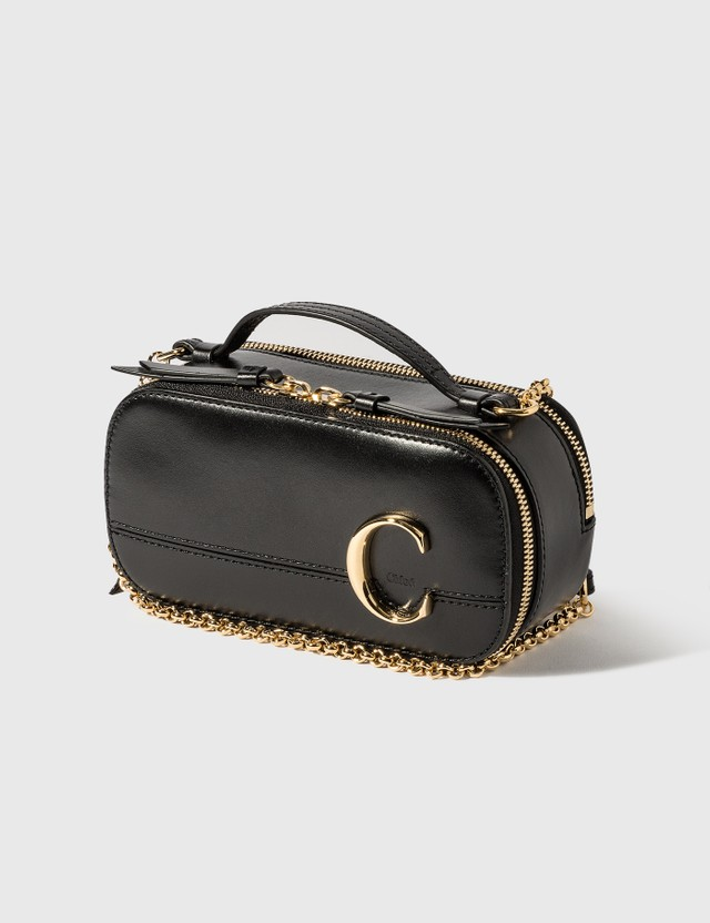 Chloé Chloé C Mini Vanity Bag Black Women