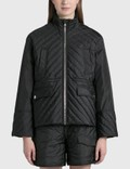 Ganni Quilted Recycled Ripstop Jacket Picture