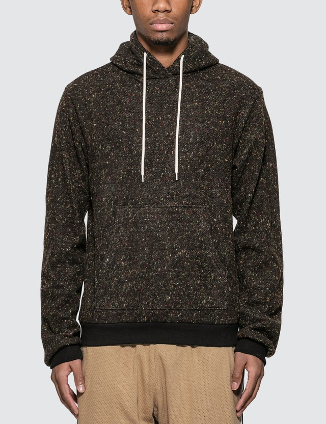 John Elliott Fireside Beach Hoodie Black Multi Men