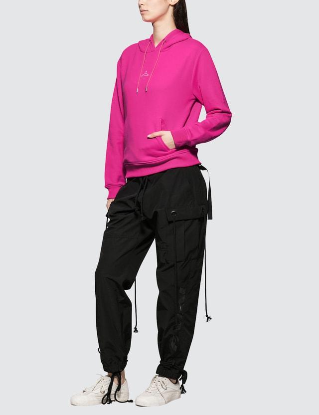 Holzweiler Neon Hang On Hoodie Neon Pink Women