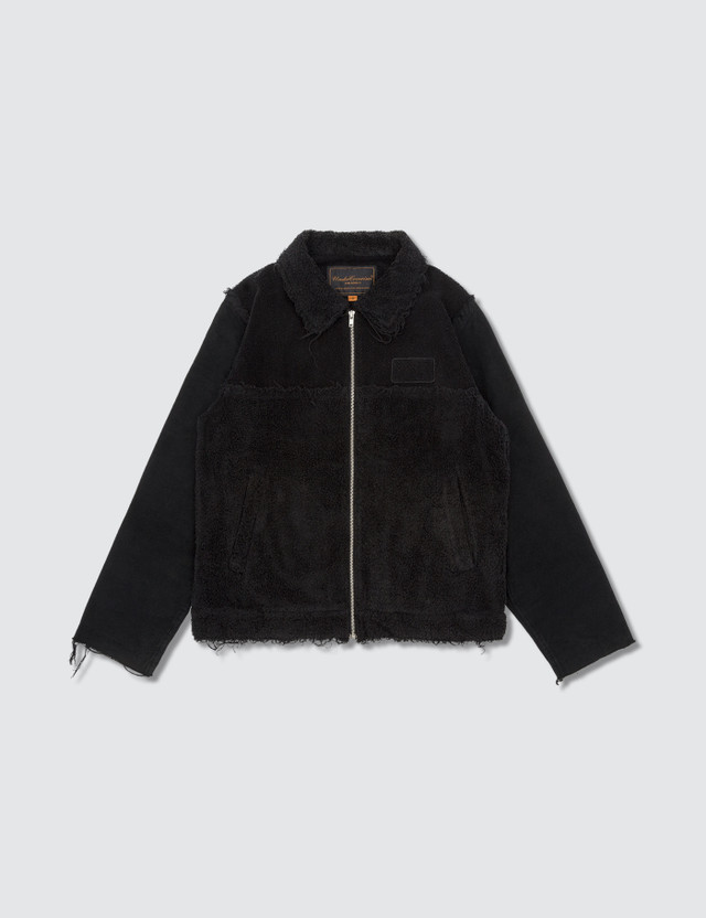 Undercover Pile Distressed Jacket Black Archives