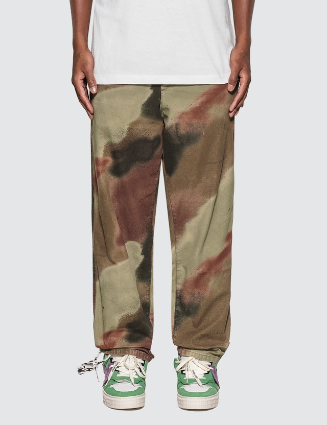 Off-White Camo Relaxed Tapered Pants