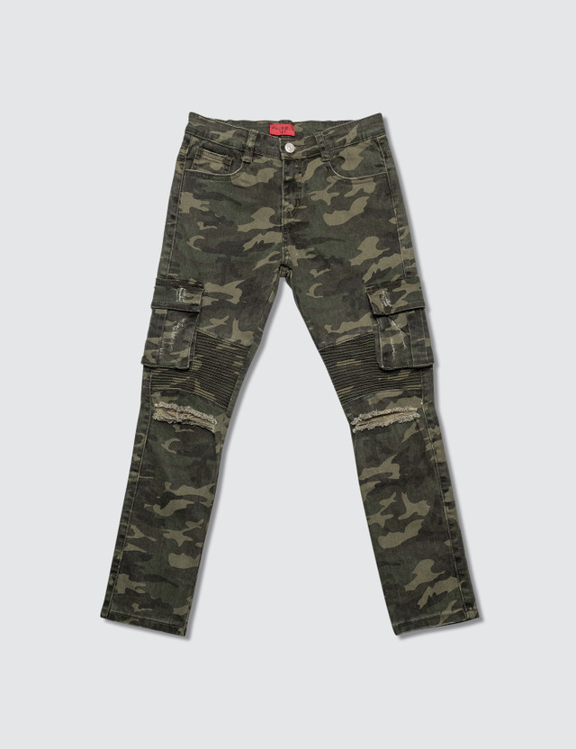 Haus of JR Clayton Cargo Biker Pants