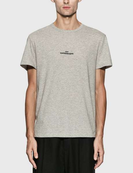 메종 마르지엘라 Maison Margiela Reversed Logo Embroidery T-Shirt
