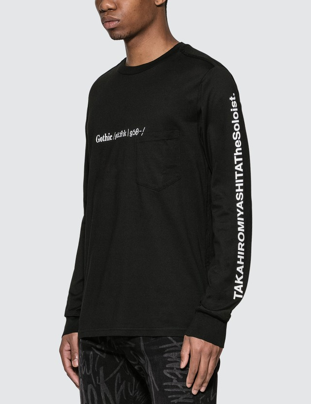 Takahiromiyashita Thesoloist Gothic Long Sleeve T-Shirt =e25 Men