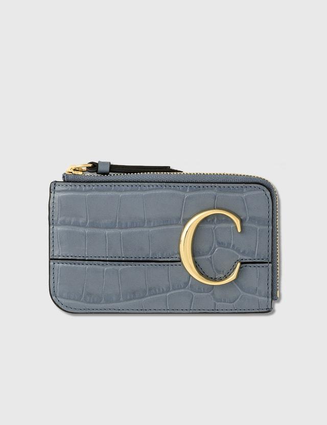 Chloé Chloé C Zipped Card Case
