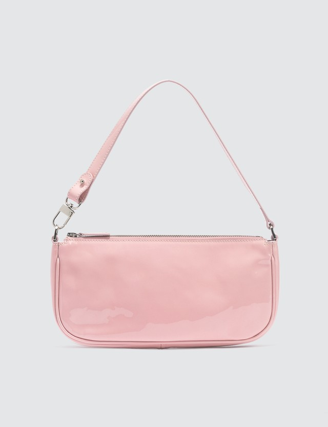 BY FAR Rachel Baby Pink Patent Leather Bag