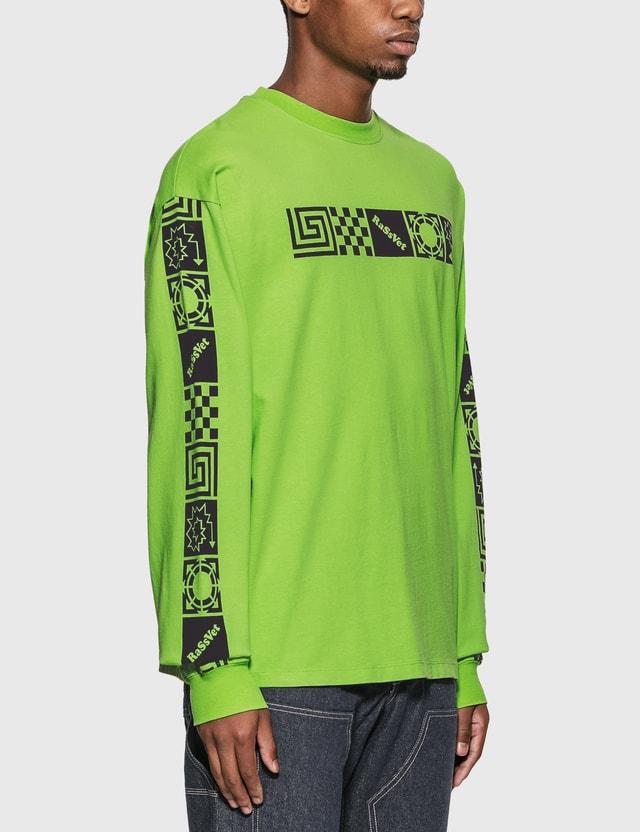 Rassvet 그래픽 긴소매 티셔츠