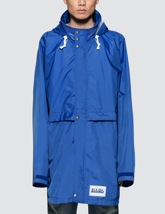 Napapijri x Martine Rose Rainforest OP Alpha Jacket Royal Men