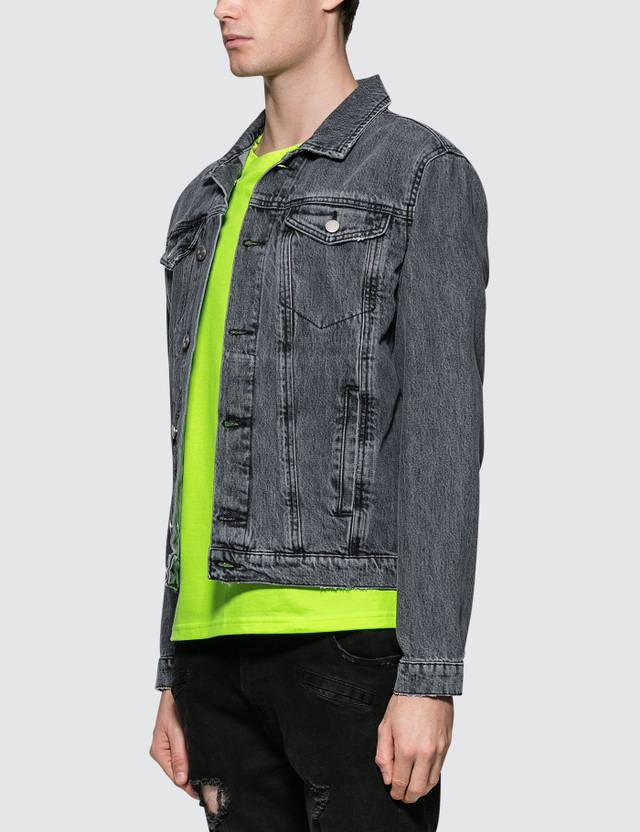 Misbhv The Razor Denim Jacket